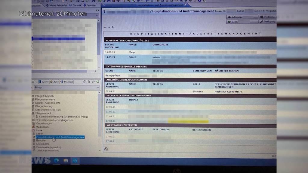 Datenleck im Spital Riggisberg: Krankengeschichte in Impfskeptiker-Chat