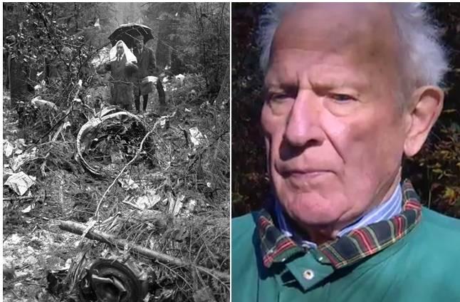 Flugzeugabsturz Würenlingen: Der ehemalige Gemeinderat Arthur Schneider erlebte ihn hautnah (5.11.2015)