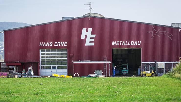 Lichterlöschen bei der H. Erne Metallbau AG in Leuggern. Mit dem Konkurs endet die 36-jährige Firmengeschichte.
