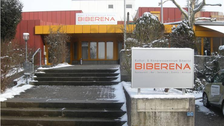 «Die Biberister Vereine brauchen die Culturarena», ist Franz Portmann, Ansprechperson für den Biberena-Saal, überzeugt.