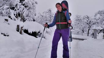 Snowboardtour mitten im Freiamt