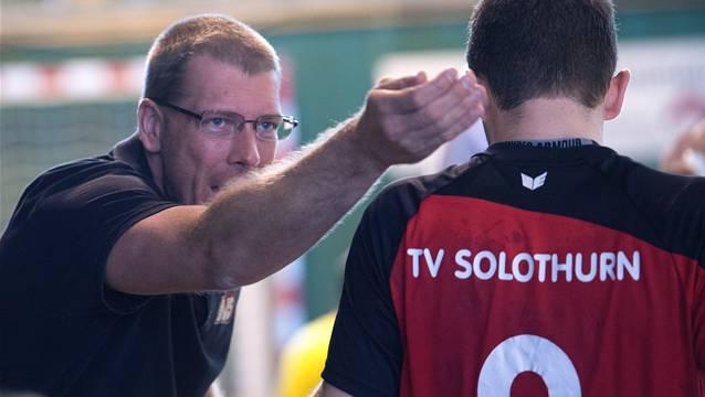 Zsolt Toth (links) ist nicht mehr Trainer im TVS.