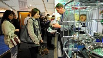 140 Aussteller präsentieren sich und ihre Produkte an der Grenchner Messe.