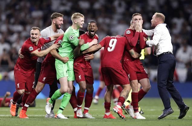 Grosse Freude beim Liverpool FC, im zweiten Anlauf hat es geklappt mit dem Titel.