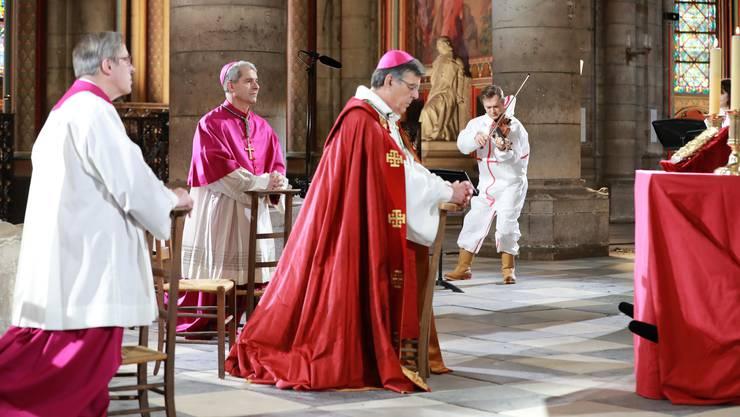 Karfreitag-Feierlichkeiten in der Notre-Dame-Kirche.