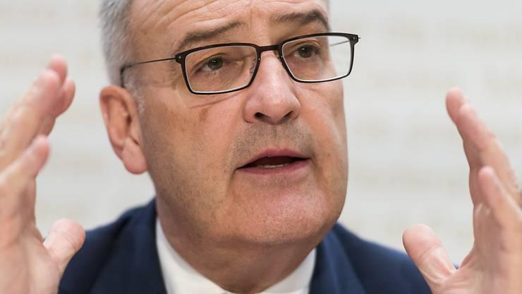 Der Luzerner Regierungsrat hat sich wegen den Entwicklungen bei Schmolz+Bickenbach an Bundesrat Guy Parmelin gewandt. (Archivbild)