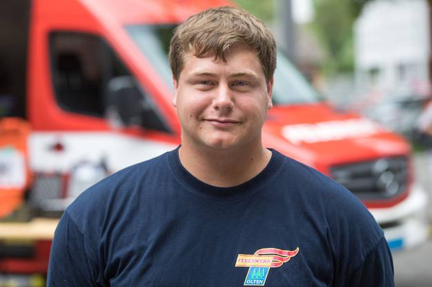 «Ich war mal indirekt Betroffene eines Brandfalls und war beeindruckt vom Einsatz der Feuerwehr. Also wollte ich auch helfen.»