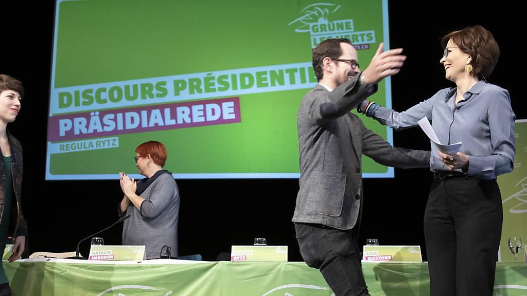 Grüne bejubeln Wahlsieg - «Wir gehören in den Bundesrat»