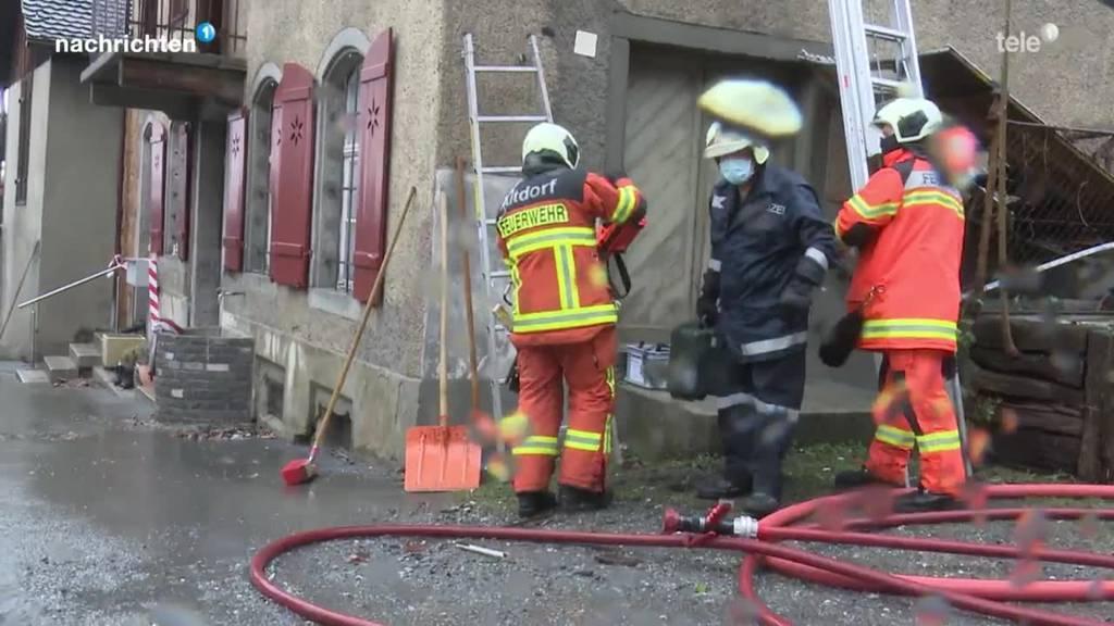 Brand Altdorf zeigt die Gefahren in engen Städtchen