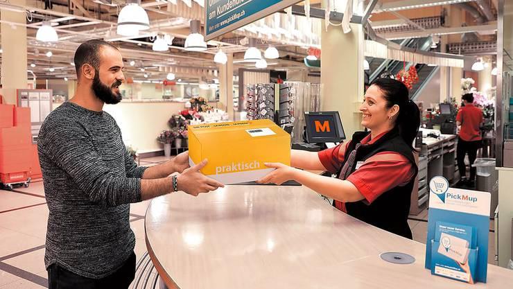 Der neue Service wird in 300 Migros-Filialen lanciert.