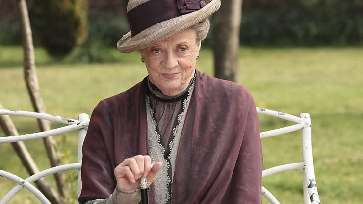 """Kein Interesse an """"Downton Abbey"""", wo sie einer der Stars der TV-Serie ist: Maggie Smith (in einer Aufnahme vom Februar 2013)."""