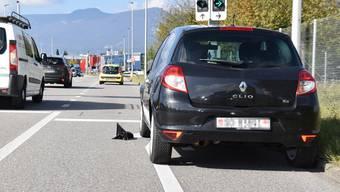 Durch die Kollision ist ein Sachschaden an beiden Fahrzeugen entstanden.