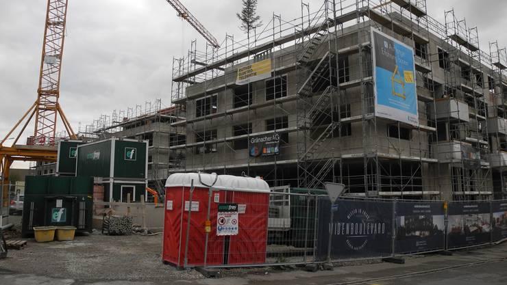 So sah die Baustelle im Oktober 2017 aus – nun startet die zweite Bauetappe. (Archiv)