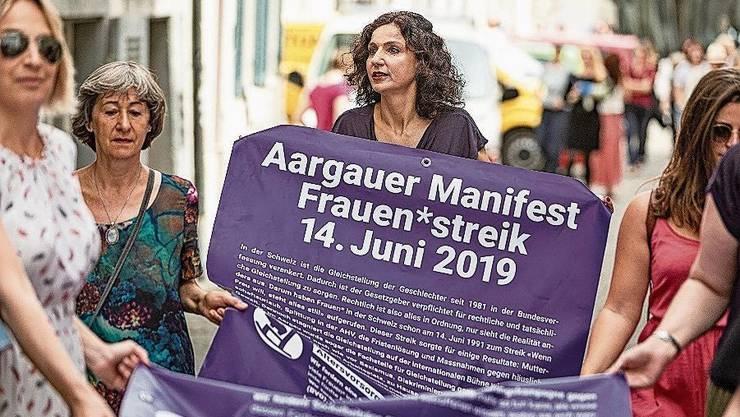 2019 war Frauenjahr – 2020 zumindest im Aargau nicht.
