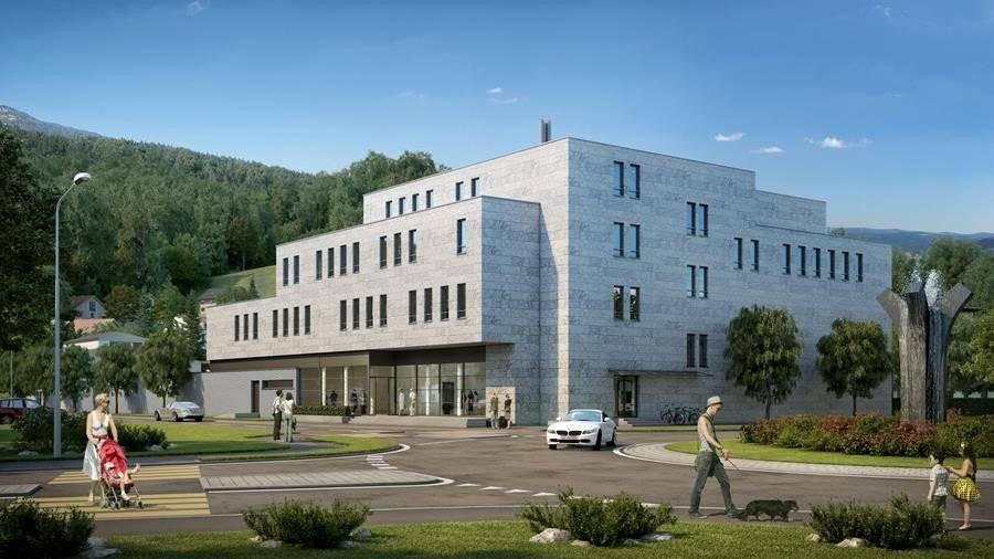 Das Mineralheilbad St.Margrethen wird am 29. Oktober eröffnet.