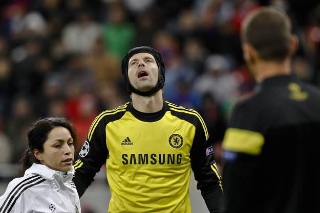 Chelsea-Hüter Peter Cech.