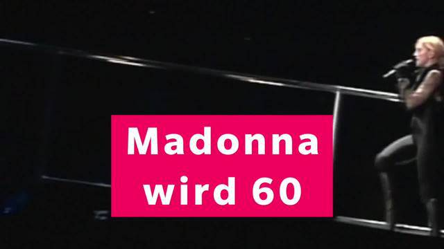 Like a Virgin: Madonna wird 60