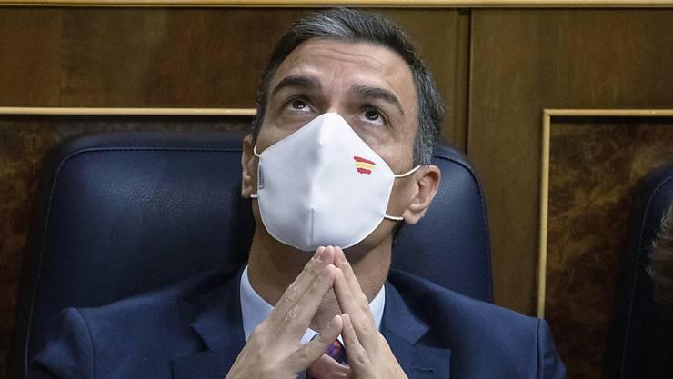 Spaniens Ministerpräsident Pedro Sánchez. Foto: Pablo Blazquez Dominguez/POOL Getty/dpa