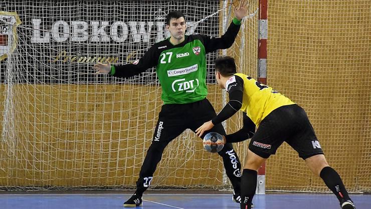 Vit Schams heisst Endingens neuer Goalie.