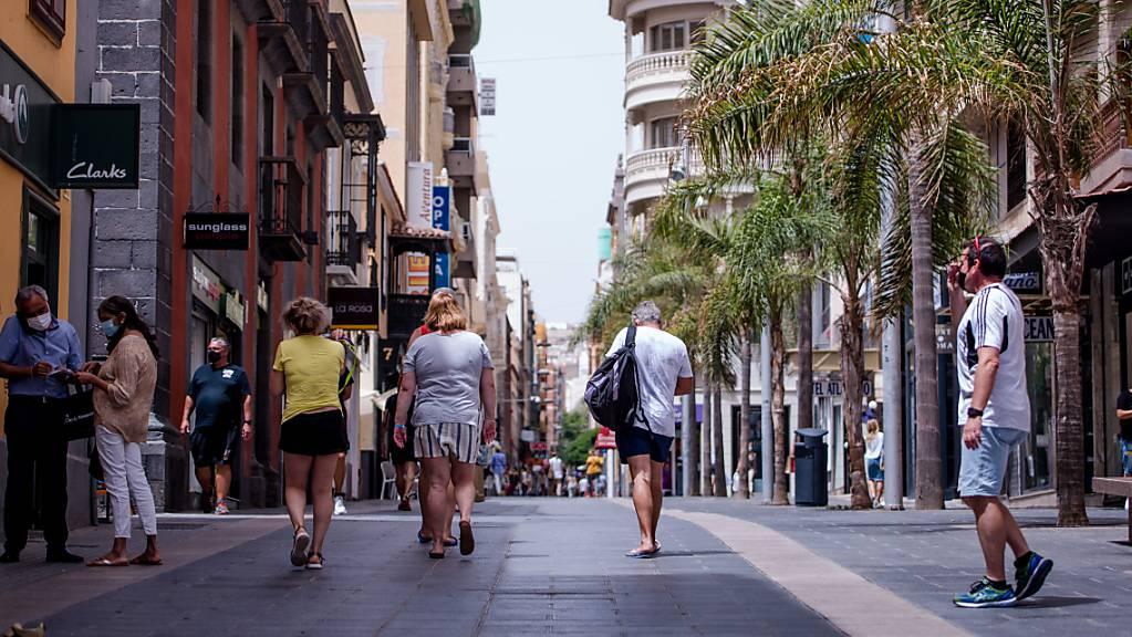 Volle Strassen und Plätze – Spanien freut sich über das Ende der meisten Corona-Restriktionen. (Bild aus Teneriffa)