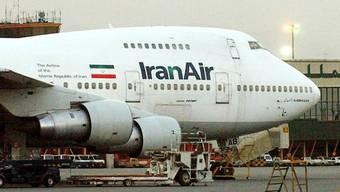 An Bord von Iran-Air-Flugzeugen sollen verbotene Gegenstände zwischen Iran und Nordkorea transportiert worden sein (Archiv)