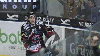 Julien Sprunger rettete Fribourg vor dem vorzeitigen Playoffs-Aus