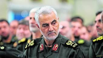 Irans Top-Agent Qassem Soleimani wurde am Freitag getötet.