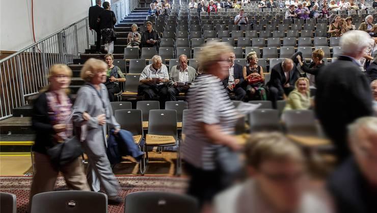 Viel zu wenig Publikum am Solothurn Classics 2015. Die Folge davon: einige Gläubiger warten noch auf ihr Geld.