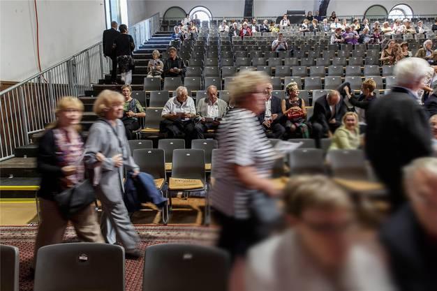 2015 gab es trotz Stars viel zu wenig Publikum am Solothurn Classics. Die Folge davon: einige Gläubiger warteten auf ihr Geld.