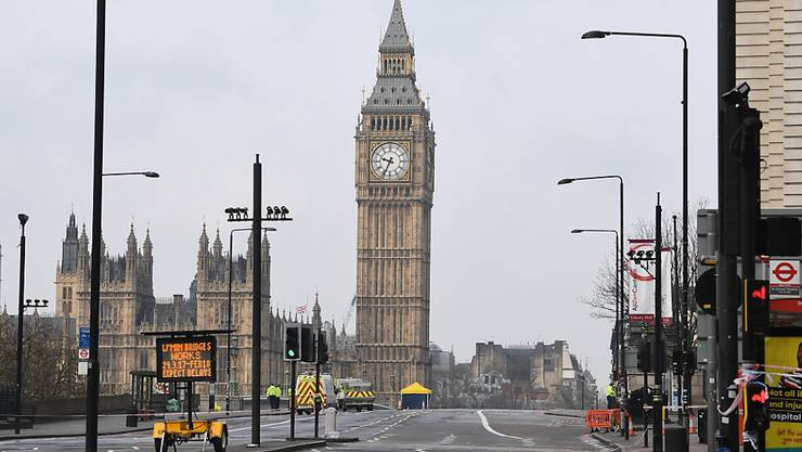 Schauplatz der Brexit-Debatten: die Houses of Parliament mit Uhrturm Big Ben in London.