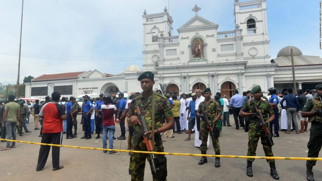 Über 200 Tote bei Explosionen in Sri Lanka
