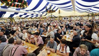 Auch am Oktoberfest in Zürich wird wieder kräftig Bier gezapft und geflirtet werden