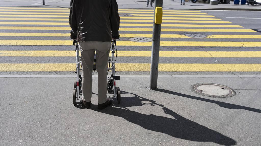 87-Jähriger auf Fussgängerstreifen angefahren