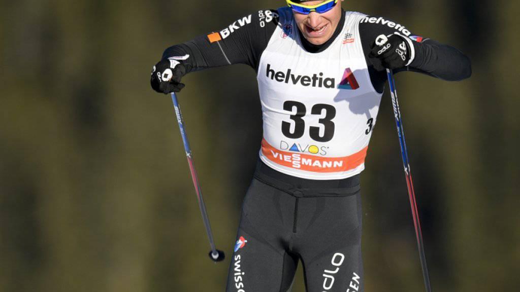 Toni Livers lief in La Clusaz in die Top 10