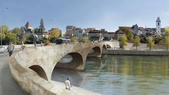 An der Optik des «Pont Neuf» scheiden sich nach wie vor die Geister. Das Projekt ist jedoch längst rechtskräftig bewilligt.
