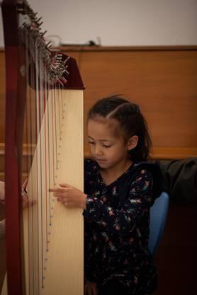 Harfe, Karen van Rekum  Fotos: KLFotografie
