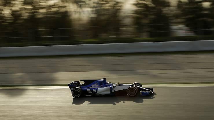Marcus Ericsson war am Nachmittag mit dem Sauber C36 im Einsatz