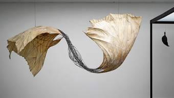 Beschwingt und luftig: Diesen grossen «Doppelflügel» schuf Erica Pedretti 1981.