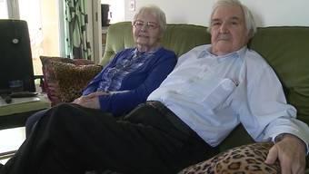 Sage und schreibe 70 Jahre sind die Studers aus Grenchen schon ein Ehepaar und immer noch glücklich verheiratet. Sie erzählen von ihrer Geschichte.