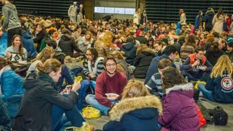 Das europäische Jugendtreffen Taizé fand letztes Jahr mit rund 15'000 Teilnehmenden in Riga statt.