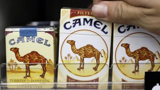 Camel Zigaretten der Firma Reynolds American