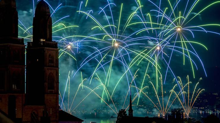 Beliebt an jedem Züri Fäscht sind  jeweils die Feuerwerke. Das Fest findet 2019 vom 5.-7. Juli statt.