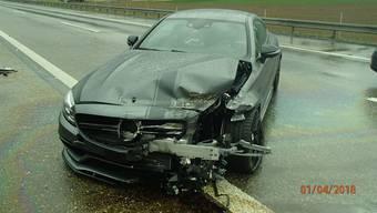 Zwei Unfälle auf der A3