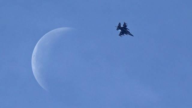 Kampfflugzeug in Syrien (Archiv)