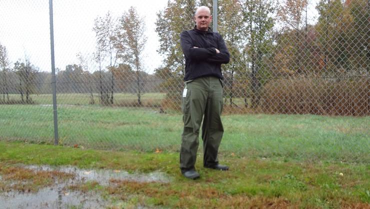 Roger Kilchenmann ist erleichter, das «Sandy nicht so schlimm wie angenommen gewütet hat.