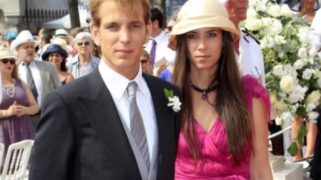 Andrea Casiraghi von Monaco und Tatiana Santo Domingo (Archiv)
