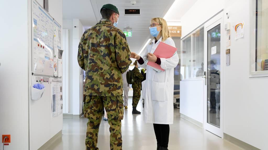 Parlament heisst zweiten Armeeeinsatz in der Coronakrise gut