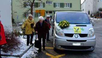 Der Adlerbus in Frenkendorf chauffiert ältere Menschen umher. (Archivbild)