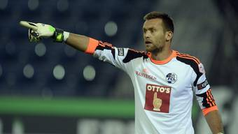 Torhüter Lorenzo Bucchi (hier im FCL-Trikot) dürfte die neue Nummer eins im FCA-Tor sein.