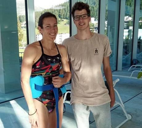 Nur drei Tage nach dem Bruch des Radiusköpfchens war Spirig wieder im Wasser. Ihr Trainer, Brett Sutton, sagte damals: «Only the naive will doubt that she will be ready to go to war in 2021.»